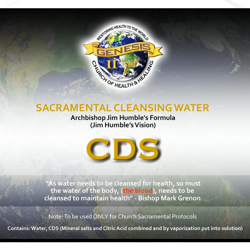 CDS MMS2,WPS, WATER PURIFICATION Health Sacraments